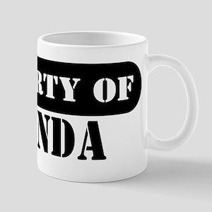 Property of Amanda Mug