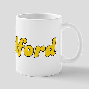 Retro Bradford (Gold) Mug