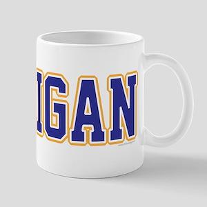 Michigan Jersey Blue Mug