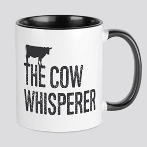 The Cow Whisperer Mugs