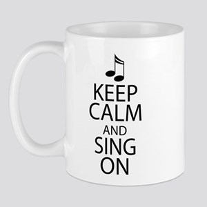 Choir Sing Penguin Music Mug