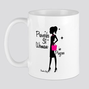 Proverbs 31 Woman in Progress Mug