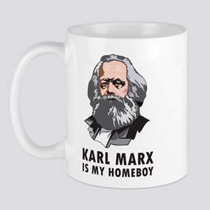 Karl Marx Is My Homeboy Mug