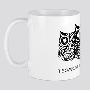 The Owls Are Not what They Seem - (Blac Mug