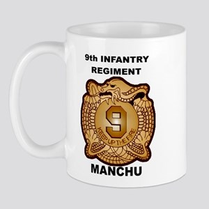 9th Infantry Regiment Manchu Mug