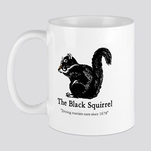 The Black Squirrel -- Mug