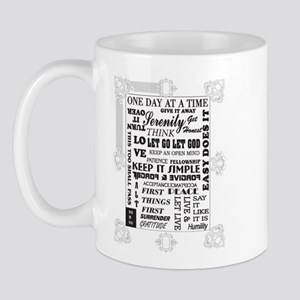 fancy frames slogans Mug