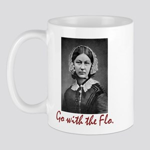 Go with Florence Nightingale! Mug