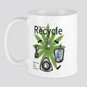 recycle your pistons copy Mugs