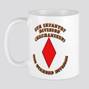 Army - Division - 5th Infantry Mug