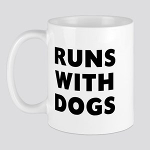 Runs Dogs 11 oz Ceramic Mug