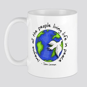 Imagine - World - Live in Peace Mug