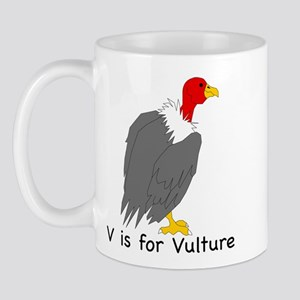V is for Vulture Mug