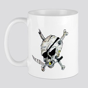 Original Skull Pirate design Mug