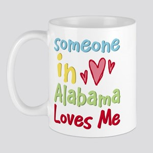 Someone in Alabama Loves Me Mug