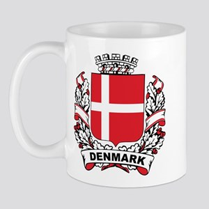 Stylish Denmark Crest Mug
