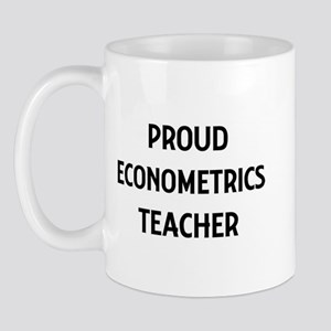ECONOMETRICS teacher Mug