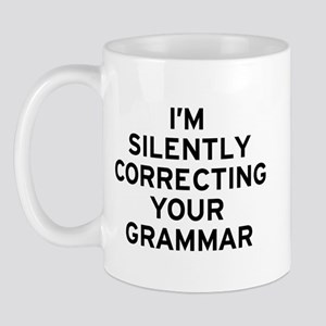 I'm Silently Grammar 11 oz Ceramic Mug