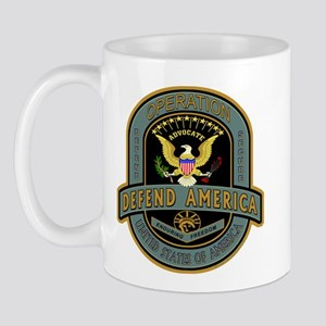 Operation Defend America Mug