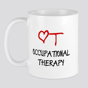 Occupational Therapy Heart Mug