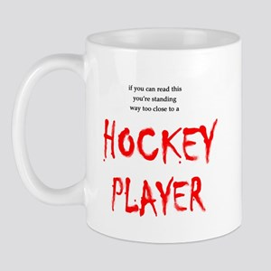 Too Close Hockey Mug