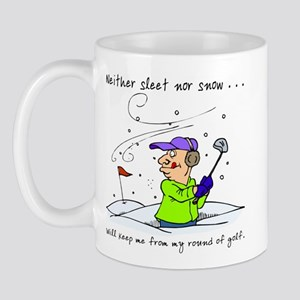 Neither Sleet Nor Snow Mug