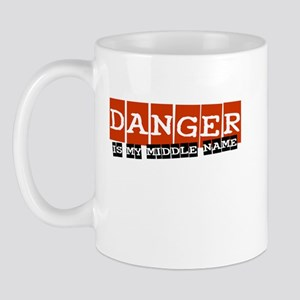 Danger is my middle name Mug