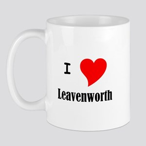 I Love Leavenworth Mug
