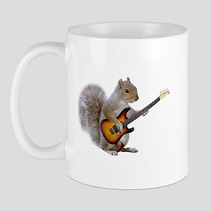Squirrel Guitar Mug