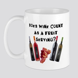 Wine as Fruit2? Mug