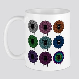A Rainbow of Sheep Mug