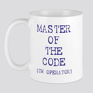 Master Of The Code (CW Operat Mug