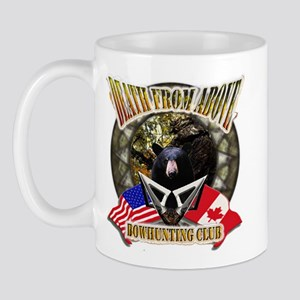 death from above bow hunting Mug