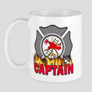 Fire Department Captain Mug