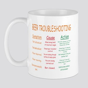 Beer Troubleshooting Mug