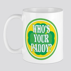 Who's Your Paddy Mug