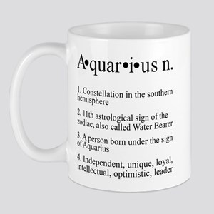 Astrology Zodiac Aquarius Mug