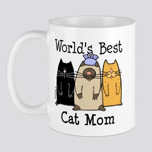 World's Greatest Cat Mom Mug