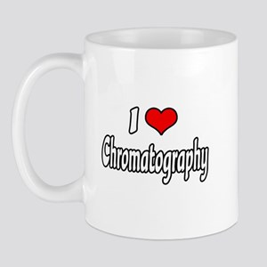 """I Love Chromatography"" Mug"