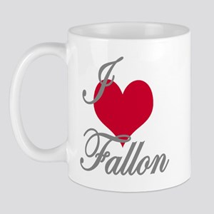 I love (heart) Fallon Mug