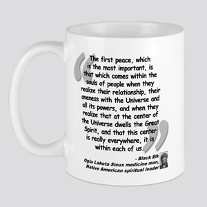 Black Elk Spirit Quote Mug