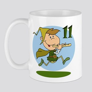 Eleven Pipers Piping Mug