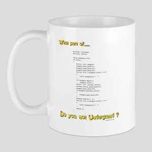 What part of Code Mug