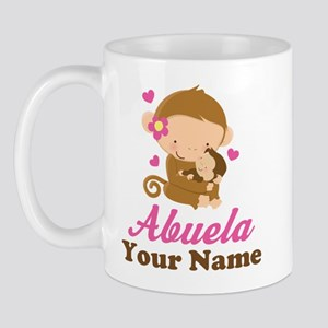 Personalized Abuela Monkeys Mug