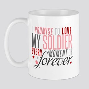 I Promise to Love my Soldier Mug