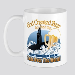 God Created Beer (Submariner) Mug
