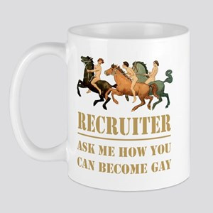 GAY RECRUITER Mug