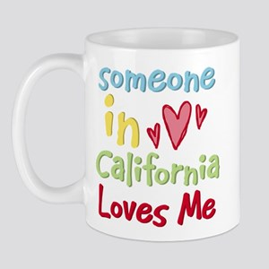 Someone in California Loves Me Mug