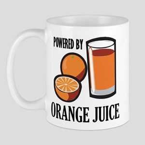 Powered By Orange Juice Mug