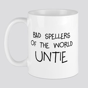 Bad Speller 11 oz Ceramic Mug